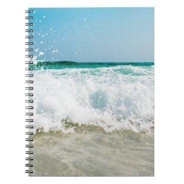 Beach Themed surf spiral notebook