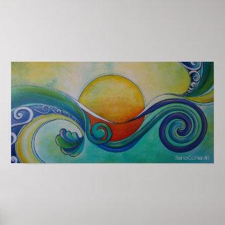 Surf Sun Koru #2 Poster