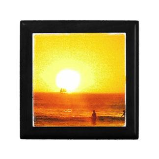 Surf Sun Sea Jewelry Box