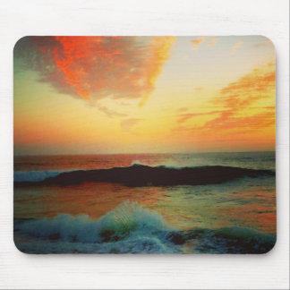 Surf Sun Sea Mouse Pad