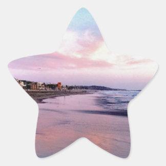 Surf Sun Sea Star Sticker