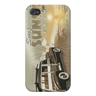 surf sunset iPhone 4/4S covers