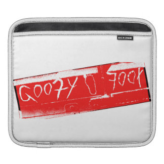 Surf surfboard goofy foot surfing Red white Sleeve For iPads