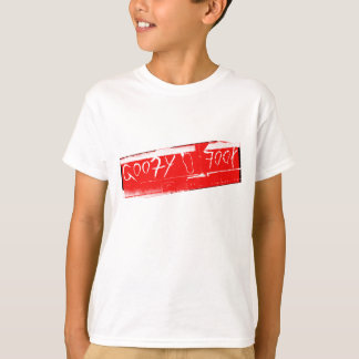 Surf surfboard goofy foot surfing Red white T-Shirt
