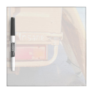 Surf surfboard insane surfing Sand and sea Dry Erase Board