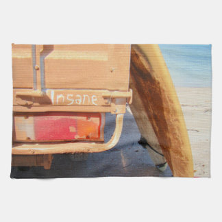 Surf surfboard insane surfing Sand and sea Hand Towel