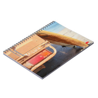 Surf surfboard insane surfing Sand and sea Notebook