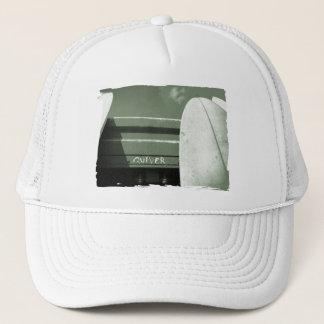 Surf surfboard quiver surfing green white trucker hat
