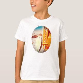 Surf surfboard stick surfing yellow beach T-Shirt