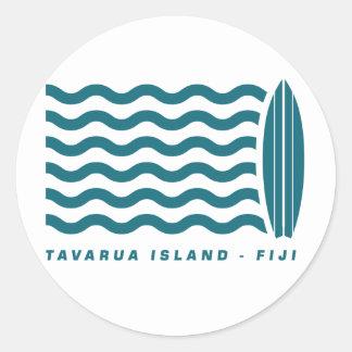 Surf Tavarua in Fiji Stickers