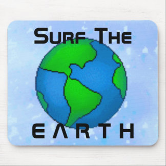 Surf the Earth Mousepad