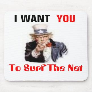Surf the Net Mousepad