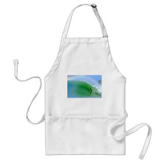 Surf the perfect surfing wave Nias Island Adult Apron