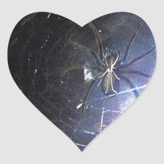 Surf the Web For Halloween Heart Sticker