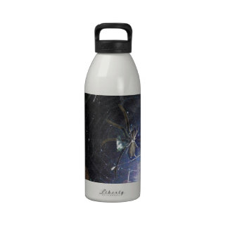 Surf the Web For Halloween Water Bottle