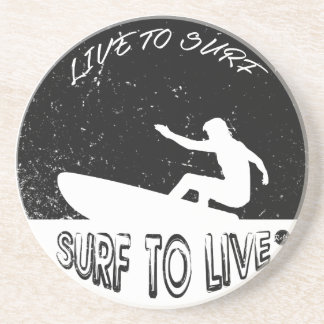 Surf To Live Coaster