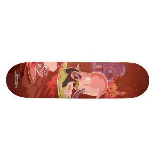 surf to New York Custom Skate Board