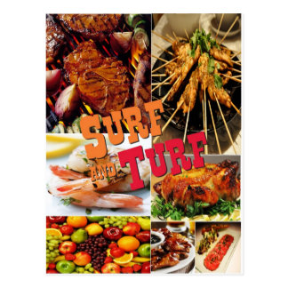 Surf & Turf Postcard
