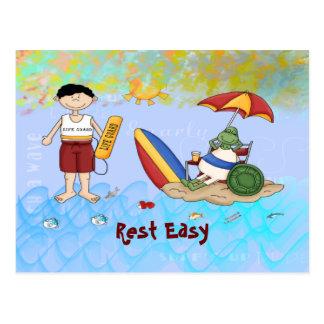 Surf up Dude Postcard