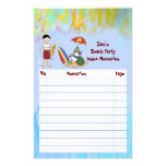 Surf up Dude Stationery Paper