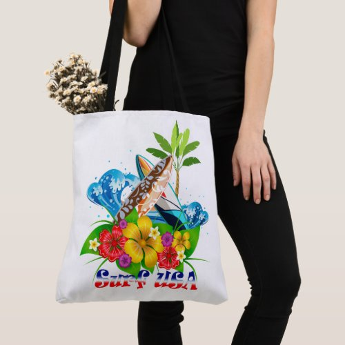 Surf USA Tote Bag