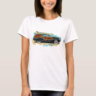 Surf Wagon Woody T-Shirt