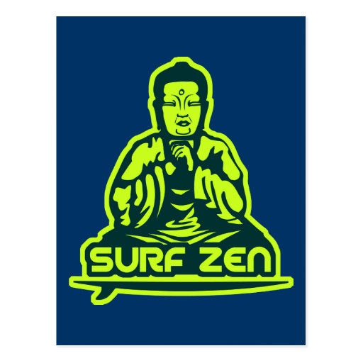 Surf Zen Postcard
