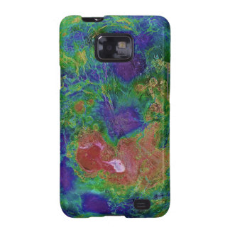 Surface Elevation Map of the Planet Venus Galaxy S2 Cases