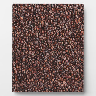 Surface from coffee beans plaque
