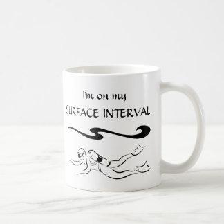 Surface Interval Classic White Coffee Mug
