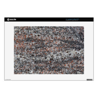 """Surface of a gneiss rock 15"""" laptop decals"""
