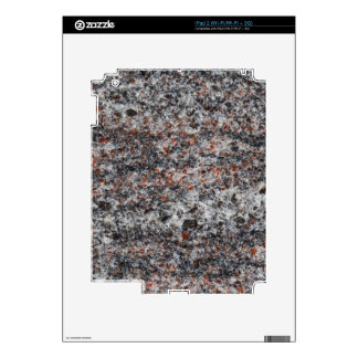 Surface of a gneiss rock iPad 2 decal