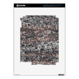 Surface of a gneiss rock iPad 3 decal