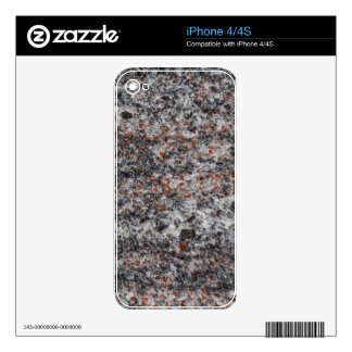 Surface of a gneiss rock iPhone 4 skin
