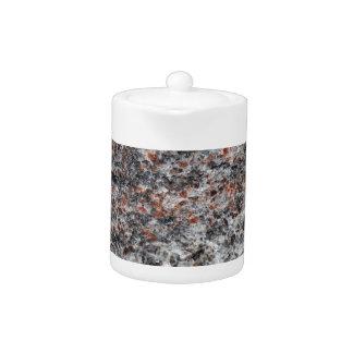 Surface of a gneiss rock teapot