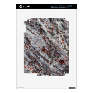 Surface of a gneiss rock with garnets decals for iPad 3