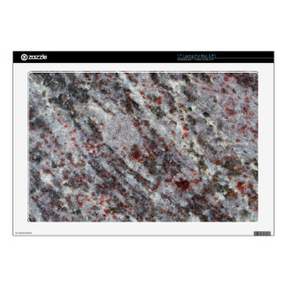 """Surface of a gneiss rock with garnets skins for 17"""" laptops"""