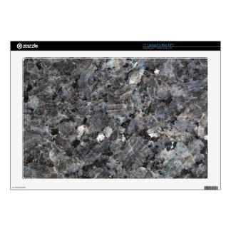 Surface of a Labradorite Rock Laptop Decals