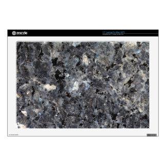 Surface of a Labradorite Rock Laptop Skins
