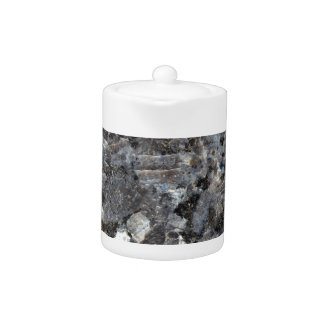 Surface of a Labradorite Rock Teapot