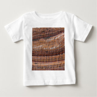 Surface of carbonate rock with weathering traces baby T-Shirt