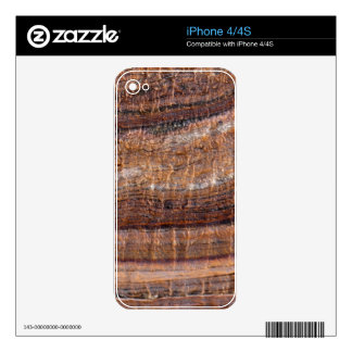 Surface of carbonate rock with weathering traces skin for iPhone 4S