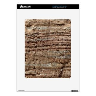 Surface of carbonate rock with weathering traces skin for the iPad
