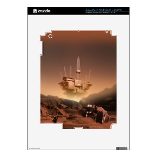 Surface of Mars 2 Decal For iPad 3