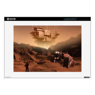 Surface of Mars 2 Laptop Decals