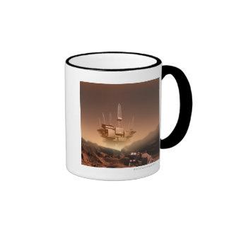 Surface of Mars 2 Coffee Mugs