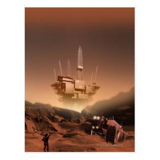 Surface of Mars 2 Postcard
