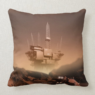 Surface of Mars 2 Throw Pillow