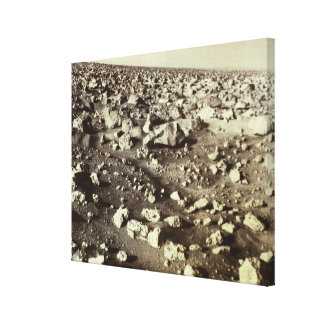 Surface of Mars Canvas Print