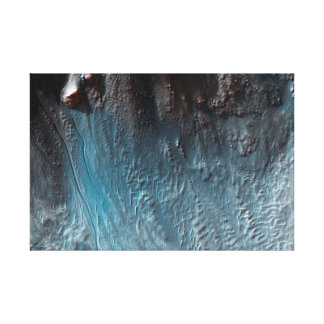 Surface of Mars – Central Pit Crater Canvas Print